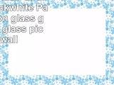 Print on Glass  Giraffe Duo blackwhite  Panel  print on glass glass print glass