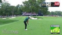 【ゴルフ】ブルックスケプカ Brooks Koepka プロ 全米プロ 最終日 1番ホール 2ndshot スウィング