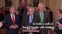 Pelosi rejects 'slush fund', McConnell confident of no shutdown