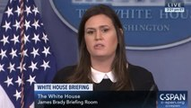 Sarah Huckabee Sanders Slammed By Reporter As She Cuts Press Briefing Short: 'Do Your Job, Sarah'