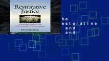 Full version  The Little Book of Restorative Justice: Revised and Updated (Justice and