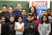 Foot à l'Ecole  : Amel Majri de retour en CM2
