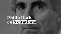 Philip Roth en 8 citations