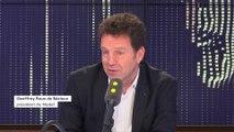 Prime de fin d'année, impôts : Geoffroy Roux de Bézieux, invité du 8h30 Fauvelle-Dély