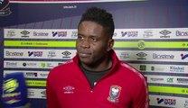 Réactions de F.Fajr et B.Samba après SMCaen / Toulouse FC