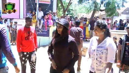 suntv சீரியல் நடித்த நடிகை Dasara Attam 2015 Disco Junior actress KALI ATTAM  14