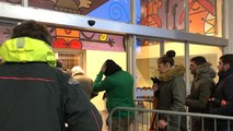La billetterie éphémère des Vieilles Charrues a ouvert ses portes à 9 h ce matin.