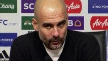 City boss Pep Guardiola gives reaction to Jose Mourinho's sacking at Man Utd