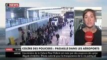 Police aux frontières en grève: De longues files d'attente ce matin dans plusieurs aéroports provoquant une grosse pagaille - VIDEO