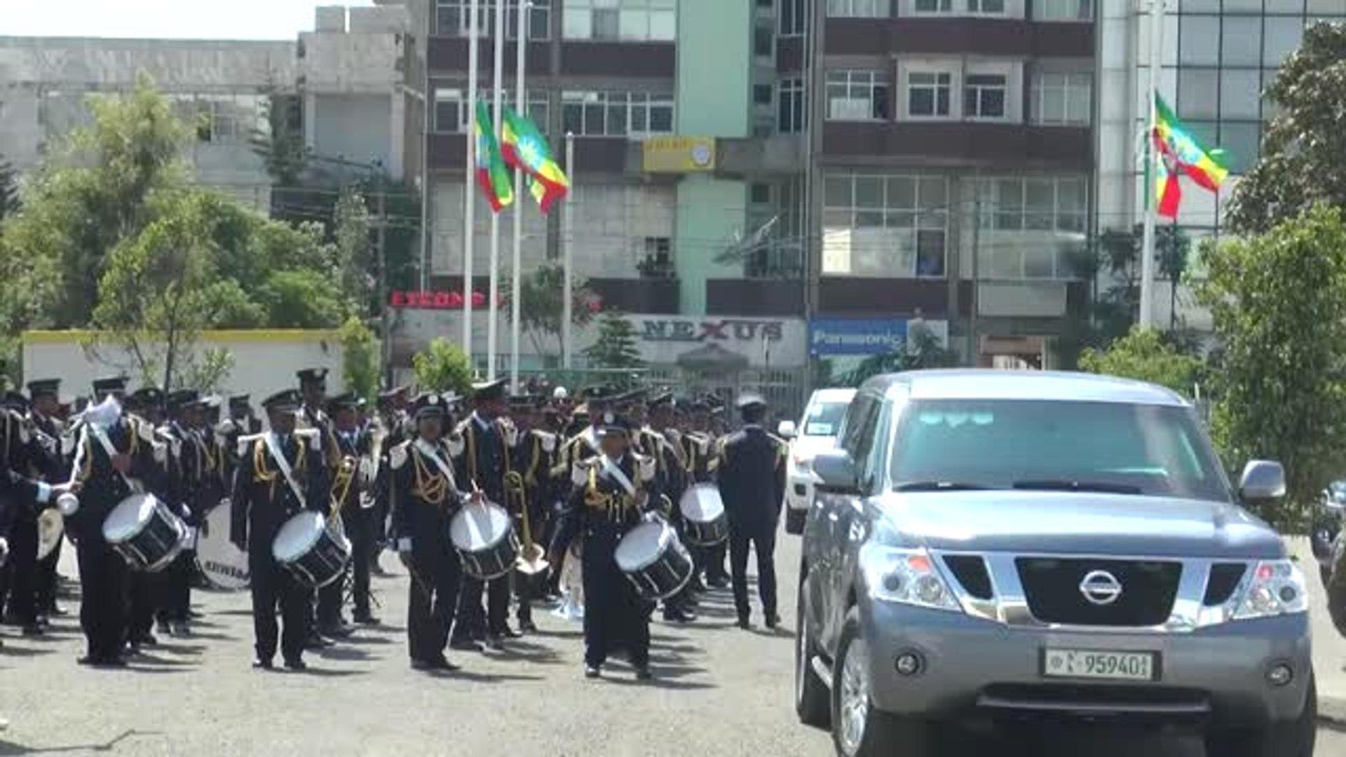 Etiyopya Eski Cumhurbaşkanı Woldegiorgis Son Yolculuğuna Uğurlandı - Addis Ababa