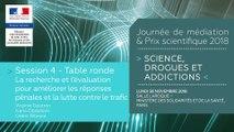 13Journée de médiation et Prix scientifique MILDECA « Science, Drogues et Addictions », 26 novembre 2018. Session 4 « Comment mieux diffuser les connaissances, favoriser leur transfert vers les politiques publiques et les pratiques professionnelles ? » #3