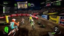 Monster Energy Supercross : The Official Videogame 2 - Premier aperçu de gameplay