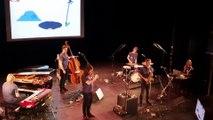 Jazzoo2 au théâtre de Lunéville devant un public d'enfants
