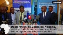 Corneille Nangaa annonce le report des élections en RDC au 30 décembre