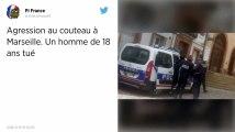Marseille. Un jeune homme de 18 ans tué à coups de couteau.