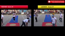 Tir de précision Nyons 2018 : la finale Dylan ROCHER vs Henri LACROIX