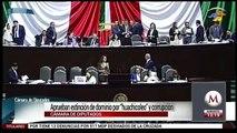 Diputados aprueban extinción de dominio por huachicoleo y corrupción