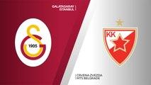 Galatasaray Istanbul - Crvena Zvezda mts Belgrade Highlights   7DAYS EuroCup, RS Round 10