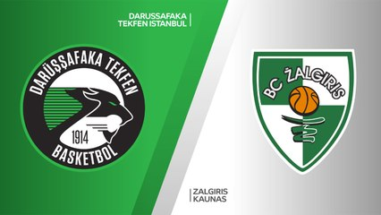 EuroLeague 2018-19 Highlights Regular Season Round 13 video: Darussafaka 71-75 Zalgiris
