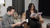 Michelle Obama and Jimmy Fallon Surprise Fans on 'Tonight Show' | THR News