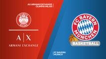AX Armani Exchange Olimpia Milan - FC Bayern Munich Highlights | Turkish Airlines EuroLeague RS Round 13