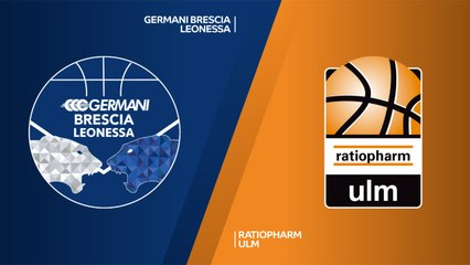 7Days EuroCup Highlights Regular Season, Round 10: Brescia 80-97 Ulm