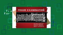 Fraud Examination  For Kindle