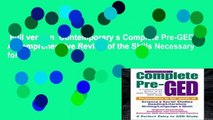 Full version  Contemporary s Complete Pre-GED: A Comprehensive Review of the Skills Necessary for