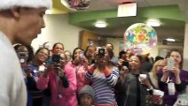 Former US president Barack Obama visits children's hospital as Santa Claus, brings smiles to faces
