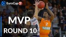7DAYS EuroCup Regular Season Round 10 MVP: Patrick Miller, ratiopharm Ulm