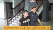 Penganggur dipenjara tiga tahun rogol gadis 13 tahun
