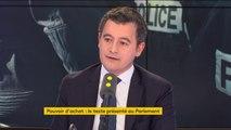"""""""L'augmentation de salaires"""" dans le cadre de l'accord avec le policiers """"est conditionnée à la suite par une grande réforme de la police nationale notamment de ses horaires"""" affirme Gérald Darmanin, ministre de l'Action et des Comptes publics"""