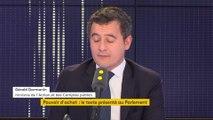 « Je joue mon poste tous les jours » : Gérald Darmanin, invité du 8h30 Fauvelle-Dély