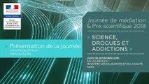 2Journée de médiation et Prix scientifique MILDECA « Science, Drogues et Addictions », 26 novembre 2018 – Julien Morel d'Arleux, directeur de l'OFDT et présentation de données récentes sur les usages de drogues illicites par Stanislas Spilka