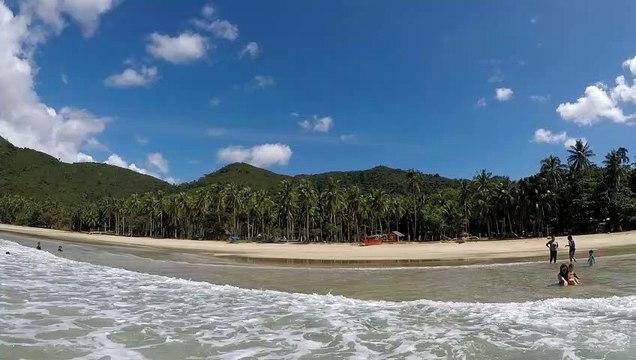 Philippines - Nacpan Beach Palawan