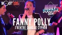 """FANNY POLLY : """"J'rentre dans le cypher"""" (Live @Mouv' Booster Sacem)"""