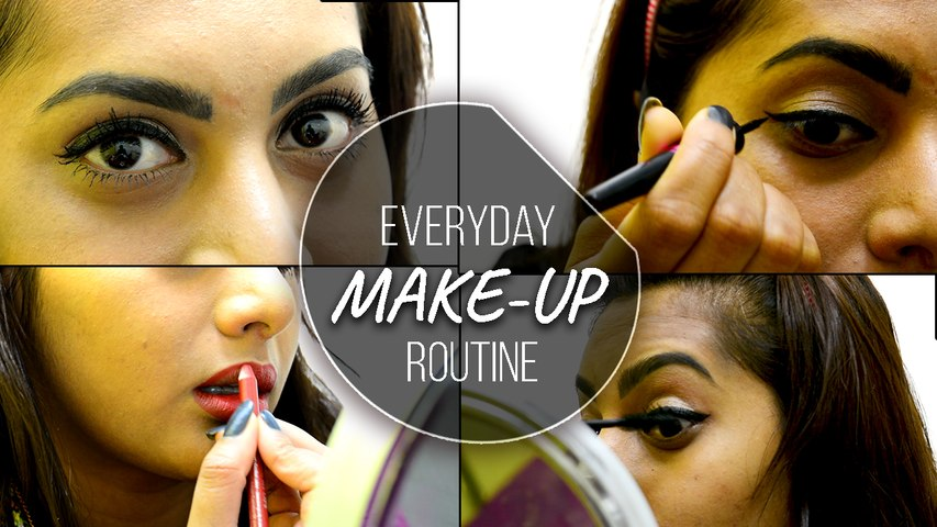 Simple Everyday Make-up Routine! | Boldsky