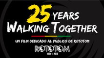 25 YEARS WALKING TOGETHER [español] Un film dedicado al público del Rototom