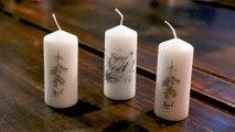 Comment personnaliser des bougies ?