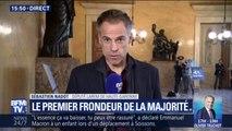 """Député LaREM frondeur : """"Sur la question du budget, le compte n'y est pas"""" explique Sébastien Nadot"""