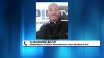 Alpes du Sud: bilan des chutes des neiges à quelques jours des vacances de Noël