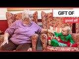 Adorable 'little elves' visit OAPs for Christmas | SWNS TV