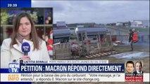 """Laetitia Dewalle salue """"le geste d'Emmanuel Macron d'avoir fait l'effort de répondre"""" à la pétition de change.org"""