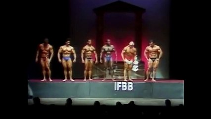 Mr. Olympia 1982 Posedown and Award Ceremony