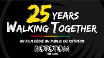 25 YEARS WALKING TOGETHER [francaise] Un film dédié au public du Rototom