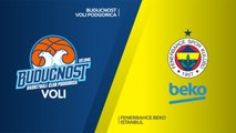 Buducnost VOLI Podgorica - Fenerbahce Beko Istanbul Highlights | Turkish Airlines EuroLeague RS Round 14