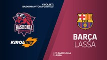 KIROLBET Baskonia Vitoria-Gasteiz - FC Barcelona Lassa Highlights | Turkish Airlines EuroLeague RS Round 14