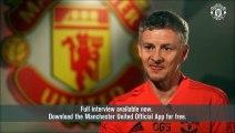 Ole Gunnar Solskjaer First Interview As Manchester United Caretaker Manager