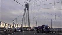 Yavuz Sultan Selim Köprüsü'nde Trafik Kazası
