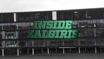 Arena tour with Brandon Davies, Zalgiris